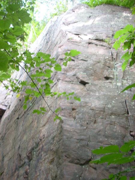 Rock Climbing Photo: Climb left of this corner.