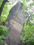 Rock Climbing Photo: Good lookin' boulder just below white wall. You wi...