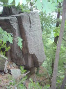 Rock Climbing Photo: A small wall located below Red Nose Wall and above...