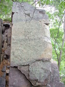 """Rock Climbing Photo: Boulder directly next to the start of """"The Bl..."""