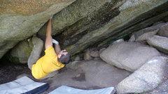 Rock Climbing Photo: Beer Crack.