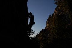 Rock Climbing Photo: Twilight in Ferg...