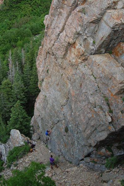 Rock Climbing Photo: Sloppy seconds on Notalobbatalk.