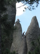 Rock Climbing Photo: An alternative to the regular start is to climb a ...