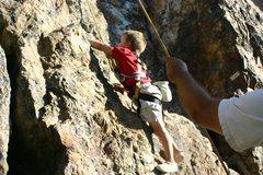 Rock Climbing Photo: The Red Rock (Facial Fracture)