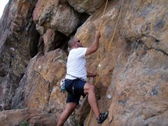 Rock Climbing Photo: The Red Rock (The Cuspidnator)