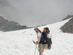 Rock Climbing Photo: On the Muir Snowfield