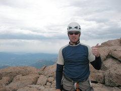 Rock Climbing Photo: On the summit.