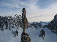 Rock Climbing Photo: Atop the Middle Troll - one of the finest summits ...