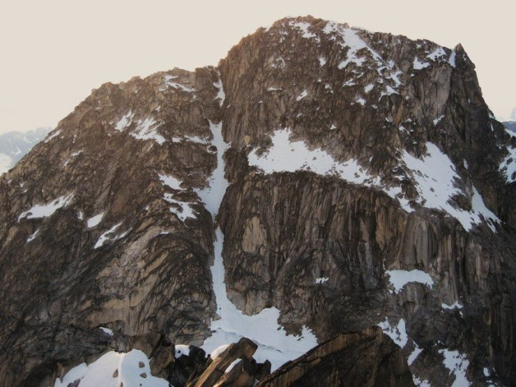The South Face of the Throne as viewed from The Middle Troll