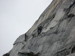 Rock Climbing Photo: Somewhere on the Lost Marsupial around pitch 3 or ...