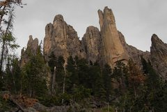 Rock Climbing Photo: The view from the Cathedral Spires trail as you ar...