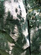 Rock Climbing Photo: the finger crack