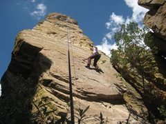 Rock Climbing Photo: Cant remember the name on this climb but it was aw...
