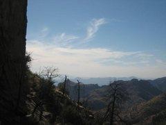 Rock Climbing Photo: Mt Lemmon