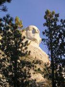 Rock Climbing Photo: The big guy.