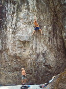 Rock Climbing Photo: Leroy Froese on Heroin
