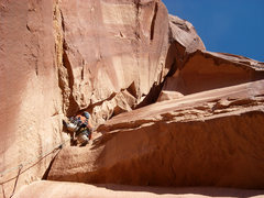 Rock Climbing Photo: Matt Pickren on pitch two.