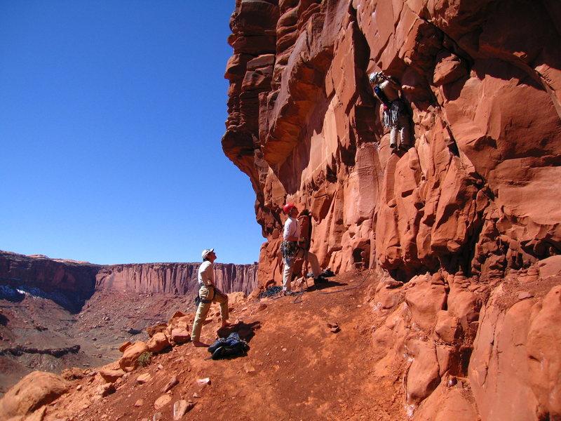 Rock Climbing Photo: Start of Primrose