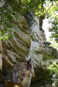 "Rock Climbing Photo: ""Pale Face"" The sweetest 11 in the area."