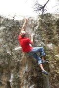 Rock Climbing Photo: Floatage.