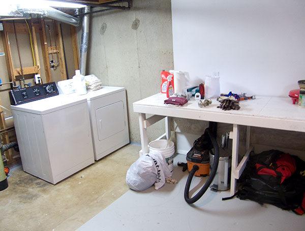 Laundry/Workshop