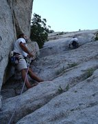 Rock Climbing Photo: Black Peeler (Utah)