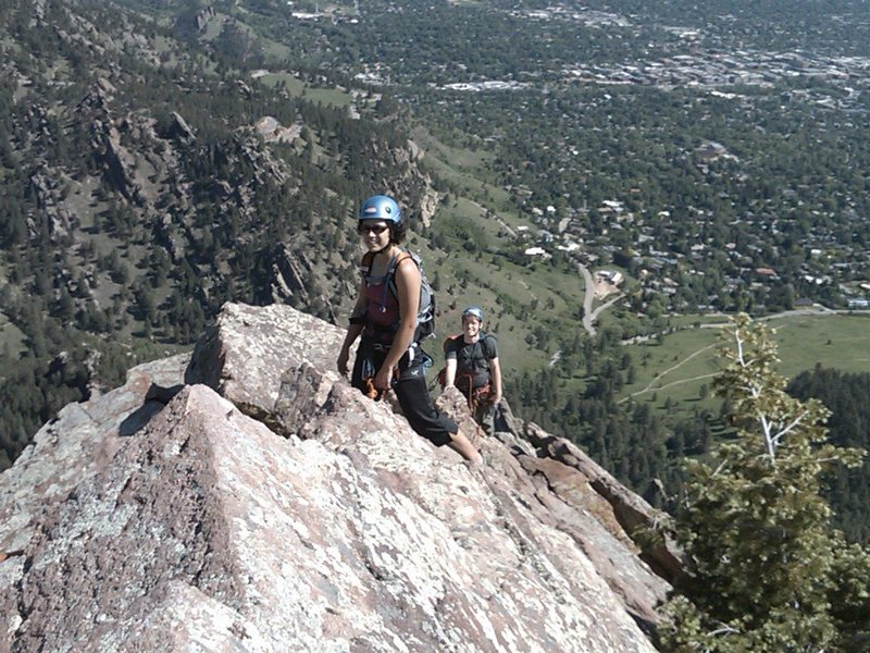 Rock Climbing Photo: At the Summit