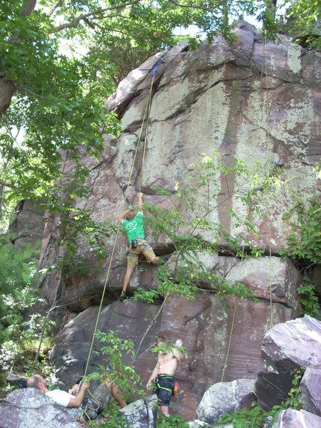 Rock Climbing Photo: Caleb on MANcation.