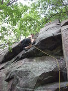 Rock Climbing Photo: According to the guidebook I would be finishing on...