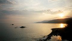 Rock Climbing Photo: Lake Superior - Sunset