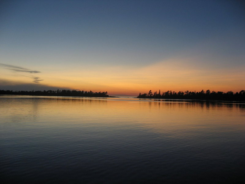 Copper Harbor Sunset - June 2009