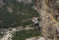 Rock Climbing Photo: Fun Terminal, 12a, post-crux