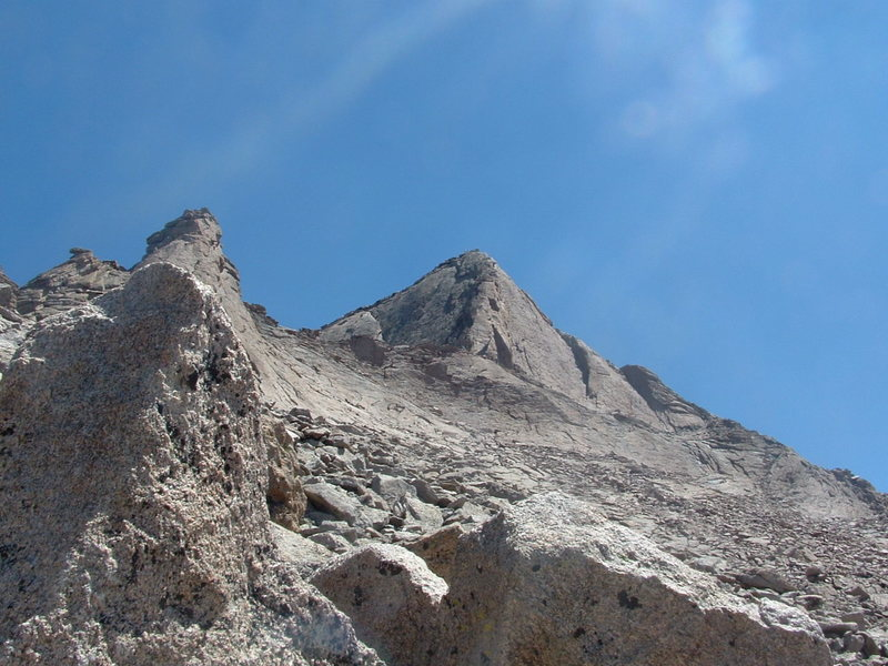 Rock Climbing Photo: the lovely Southwest corner of Longs...the final c...