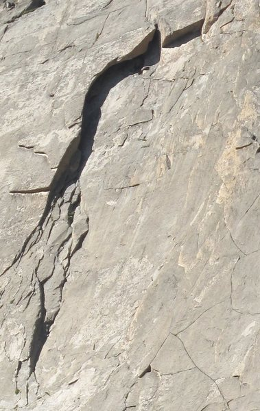 Rock Climbing Photo: The Sickle.