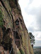 Rock Climbing Photo: Approaching Ruper traverse