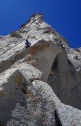 Rock Climbing Photo: Jeremy Freeman on the 1st pitch