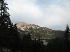 Rock Climbing Photo: Mammoth Mountain from the Horseshoe Piles, Mammoth...