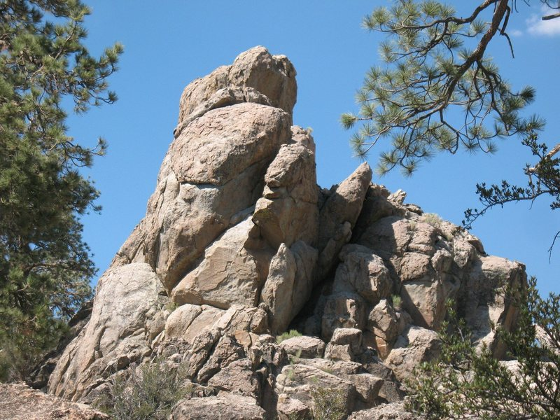 Rock Climbing Photo: Prowler Rocks, Holcomb Valley Pinnacles