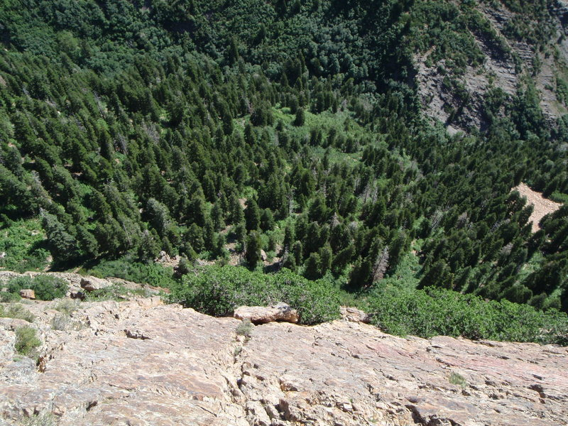Top of Mule Hollow Wall