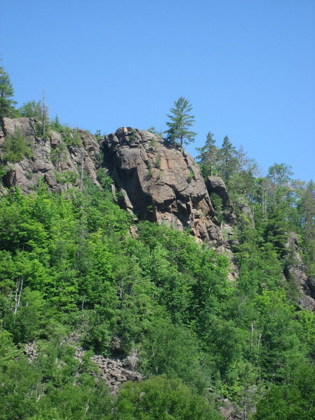 Rock Climbing Photo: Obsession Buttress - June 2009.