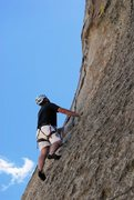 Rock Climbing Photo: 5.7 Trad Route