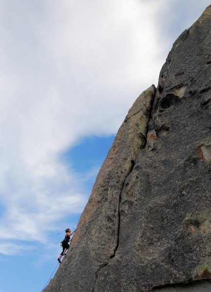 Rock Climbing Photo: Beautiful shot of Sarah Taylor and the right side ...
