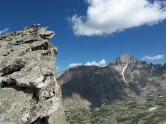 Rock Climbing Photo: Rob is thinking about taking up base jumping on th...