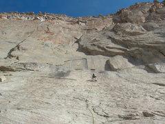 "Rock Climbing Photo: Jason Seaver, taking it cool & calm in the ""n..."