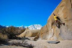 Rock Climbing Photo: Buttermilking