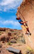 Rock Climbing Photo: Andy Patari in the Tablelands