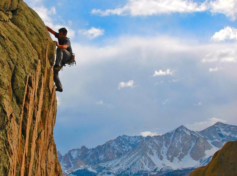 Mitch Musci at the Windy Wall