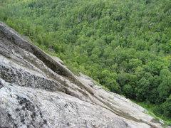 Rock Climbing Photo: Adirondacks-Chapel Pond Slab- July 09'