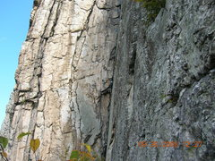 Rock Climbing Photo: Triple S.  Great rest spot!!